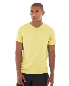 Atomic Endurance Running Tee (V-neck)-XS-Yellow
